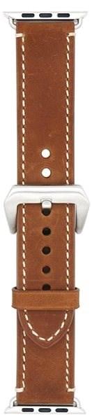 Eternico Apple Watch 38mm / 40mm Leather Band 2 hnědý - Řemínek