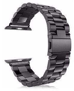 Eternico Apple Watch 42mm / 44mm Steel Band černý - Řemínek
