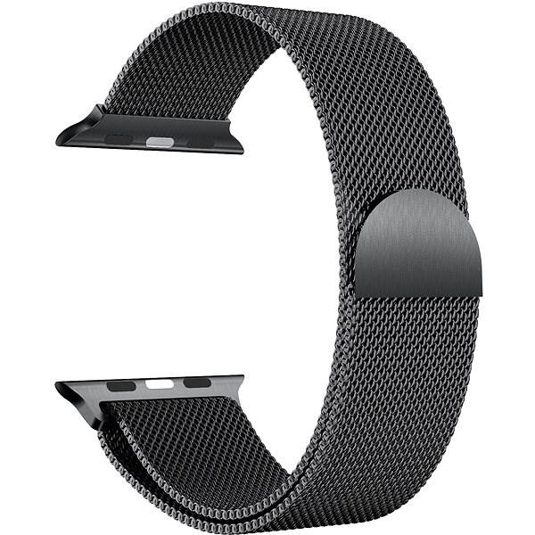 Eternico Apple Watch 38mm / 40mm Milanese černý - Řemínek