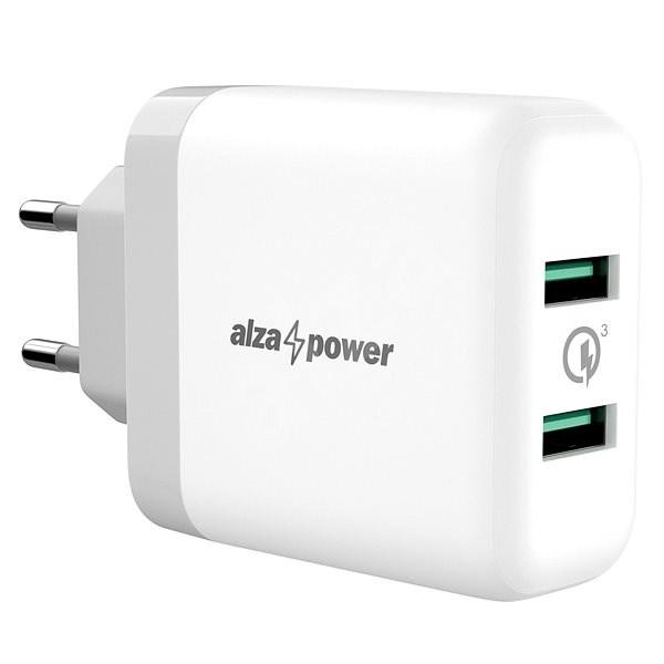 AlzaPower Q200 Quick Charge 3.0 bílá - Nabíječka