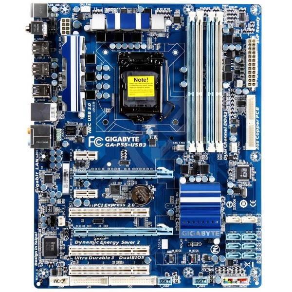 GIGABYTE P55-USB3 - Základní deska