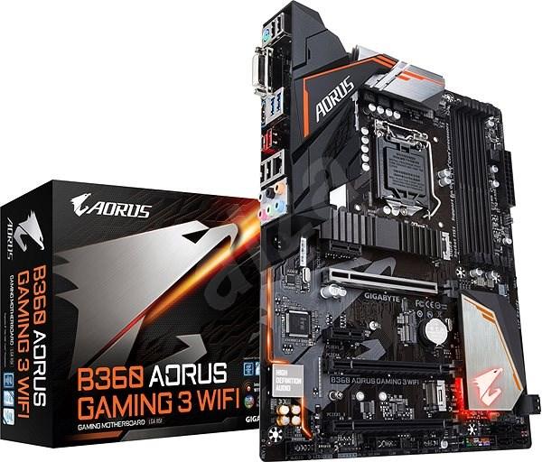 GIGABYTE B360 AORUS Gaming 3 WIFI - Základní deska