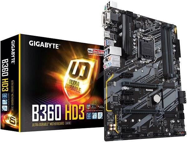 GIGABYTE B360-HD3 - Základní deska
