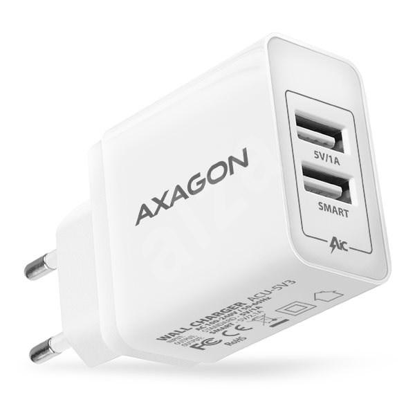 AXAGON ACU-5V3 SMART Dual USB - Nabíječka
