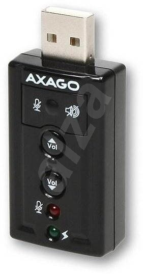 AXAGON ADA-20 - Externí zvuková karta