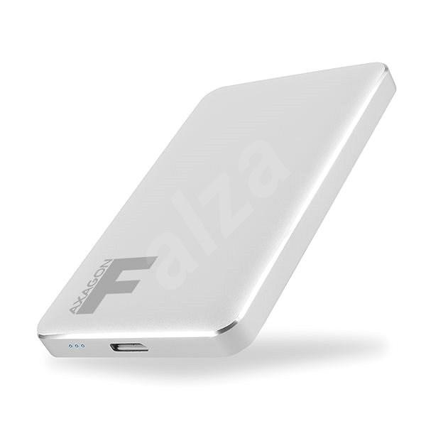 AXAGON EE25-F6S FULLMETAL stříbrný - Externí box