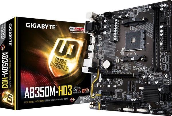GIGABYTE AB350M-HD3 - Základní deska