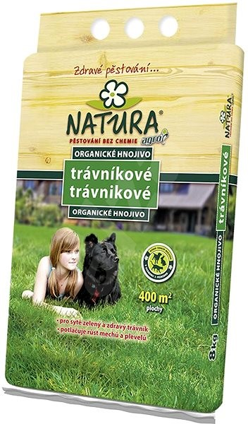 NATURA Organické trávníkové hnojivo 8 kg - hnojivo