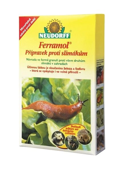 NEUDORFF Ferramol - přípravek proti slimákům 500 g - Přípravek