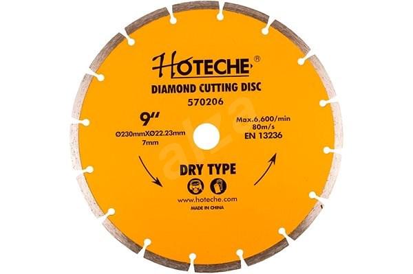 Hoteche Diamantový řezný kotouč 230 mm, segmentový - HT570206 - Diamantový kotouč