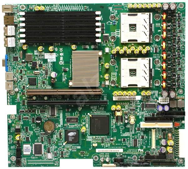 Intel SE7320VP2D2 Volcano Peak, iE7320, 6x DDR2 400 ECC, SATA RAID, int. VGA, USB2.0, 2xGLAN, 2x sc6 - Základní deska