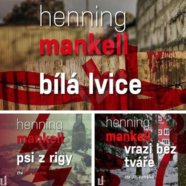 1. - 3. díl série s komisařem Wallanderem za výhodnou cenu - Henning Mankell