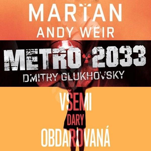 Balíček sci-fi audioknih za výhodnou cenu - Dmitry Glukhovsky  Andy Weir  M. R. Carey
