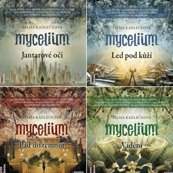 Sci-fi série Mycelium za výhodnou cenu - Vilma Kadlečková