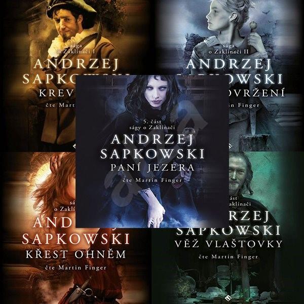 Balíček audioknih Zaklínač I. - V. za výhodnou cenu - Andrzej Sapkowski