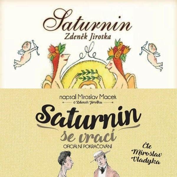Balíček audioknih Saturnin a Saturnin se vrací za výhodnou cenu - Miroslav Macek  Zdeněk Jirotka