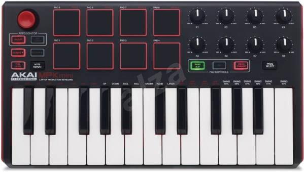 AKAI Pro MPK Mini MKII - MIDI kontroler