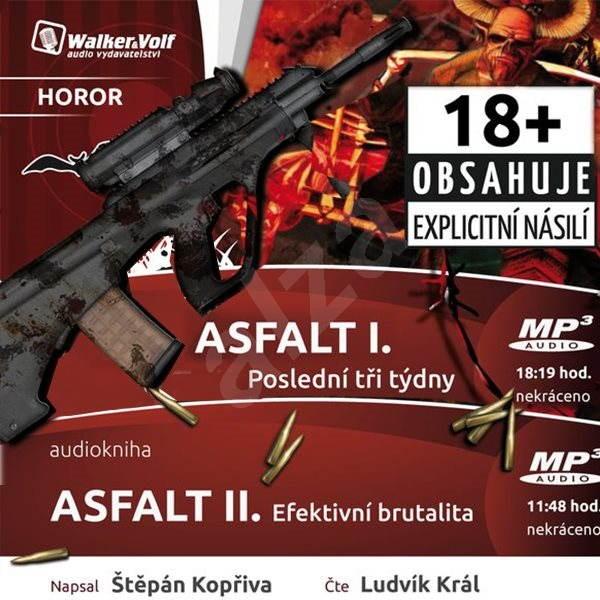 Fantasy horor Asfalt I + II za výhodnou cenu - Štěpán Kopřiva
