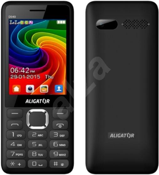 e4a3c5150 Aligator D940 černý - Mobilní telefon | Alza.cz