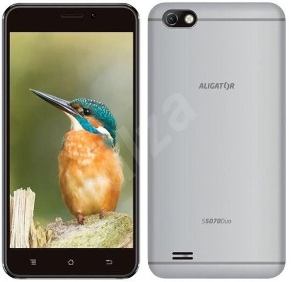 Aligator S5070 Duo 16GB stříbrný - Mobilní telefon