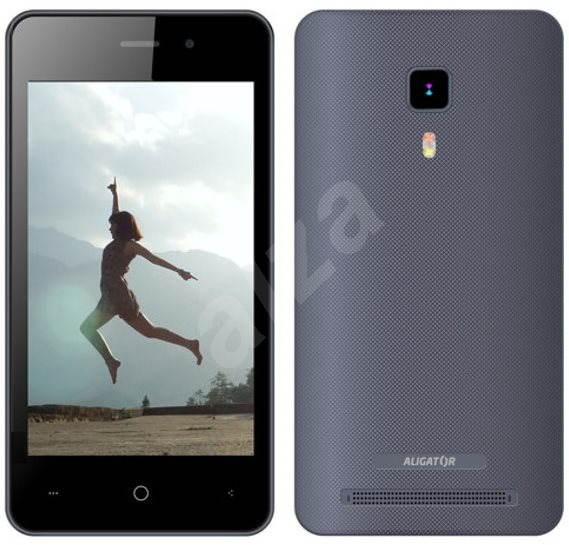 Aligator S4080 Duo šedý - Mobilní telefon