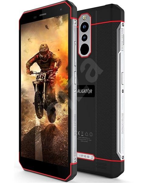 Aligator RX700 eXtremo černo-červená - Mobilní telefon