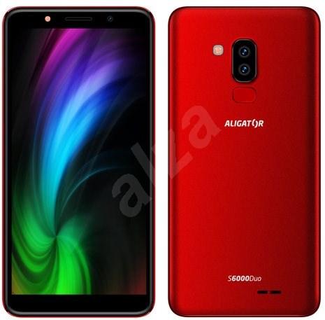 Aligator S6000 Duo červená - Mobilní telefon