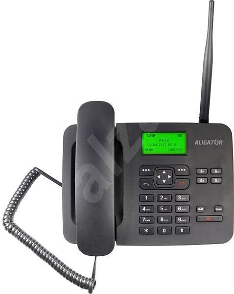 Aligator T100 černý - Mobilní telefon