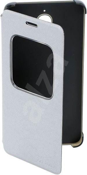ALCATEL ONETOUCH PIXI 4 (6) flip pouzdro Silver - Pouzdro na mobilní telefon e1c52487e2c