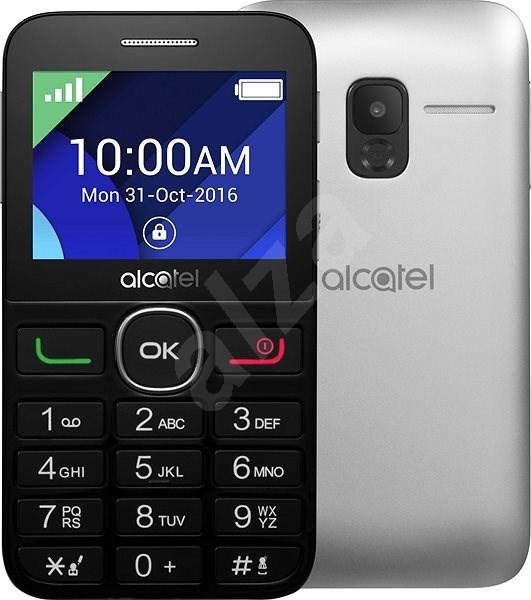 Alcatel 2008G Black/Metal Silver - Mobilní telefon