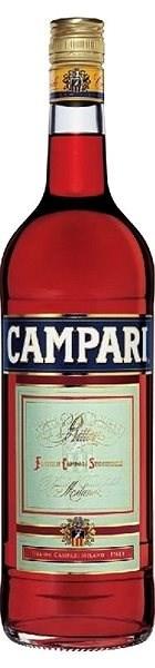 Campari Bitter 1000 Ml 25 % - Aperitiv
