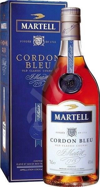 Martell Cordon Bleu Prestige 700 Ml 40% - Koňak