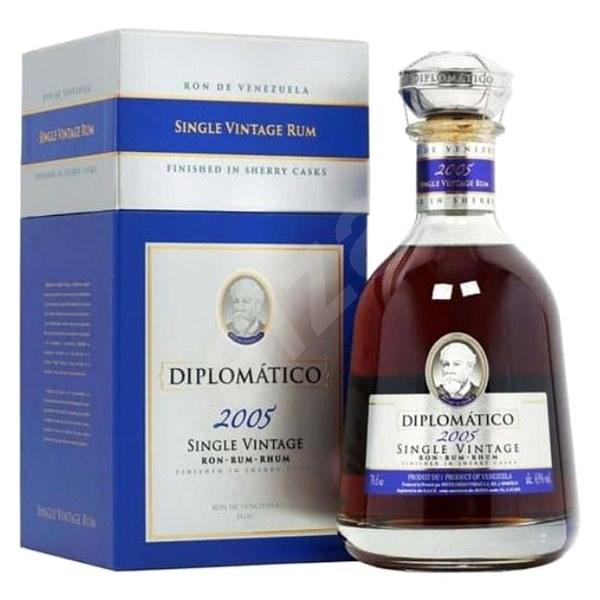 Diplomatico Single Vintage 12Y 2005 700 Ml 43% Gb L.E. - Rum