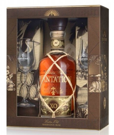 Plantation 20Th Anniversary Xo 700 Ml 40% + 2X Sklo Gb - Rum