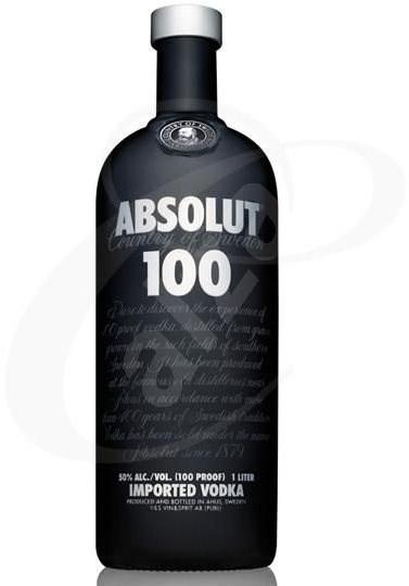 Absolut 100 Vodka 1000 Ml 50 % - Vodka
