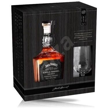 Jack Daniel'S Single Barrel 700 Ml 45% + 1X Sklo - Whiskey