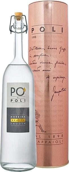 Grappa Po di Poli Morbida 0,7l 40% - Pálenka