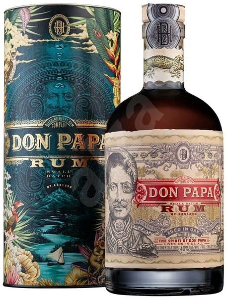 Don Papa Cosmic 7Y 0,7L 40% Tuba - Rum