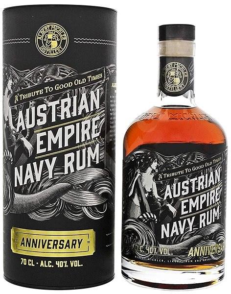 Austrian Empire Navy Rum Anniversary 0,7L 40% Tuba - Rum