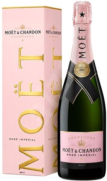 Moët & Chandon Impérial Rose 0,75l 12% GB - Šampaňské