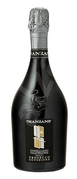Le Manzane Conegliano Valdobbiadene Superiore Spumante DOCG Brut MAGNUM Brut 1,5l 11,5% - Šumivé víno