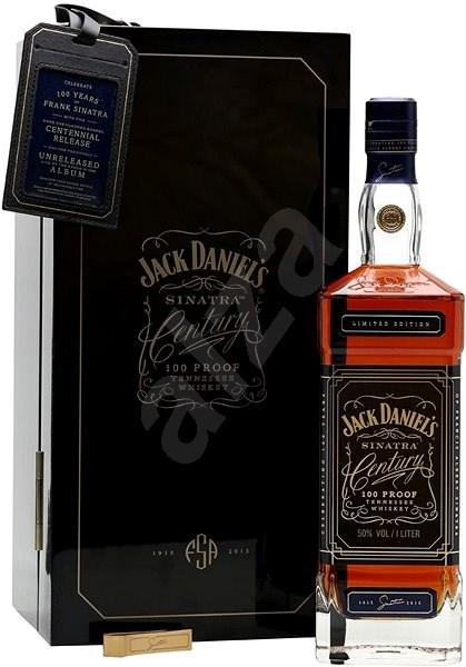 Jack Daniel's Sinatra Century 1l 50% L.E. - Whiskey