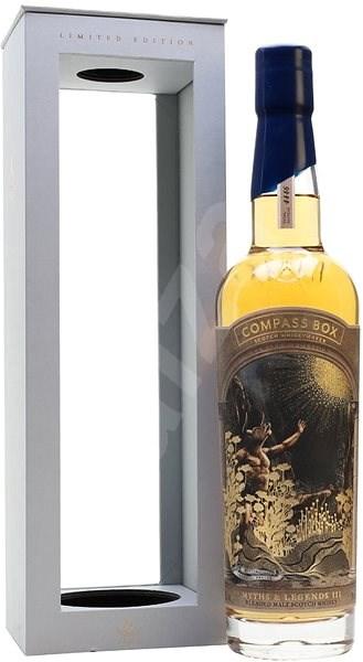 Compass Box Myths & Legends III´ 0,7l 46% L.E. / Rok lahvování 2019 - Whisky
