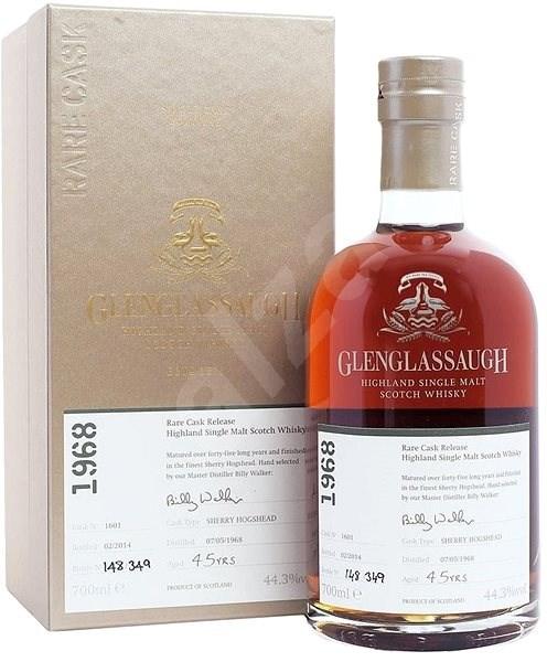 Glenglassaugh Single Cask 47y 1968 0,7l 46,1% / Rok lahvování 2016 - Whisky