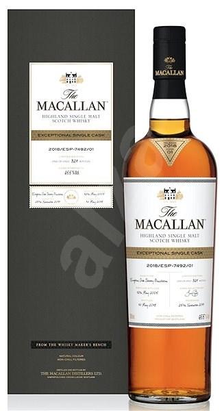 Macallan Exceptional Single Cask 2005 0,7l 65,5% / Rok lahvování 2018 - Whisky