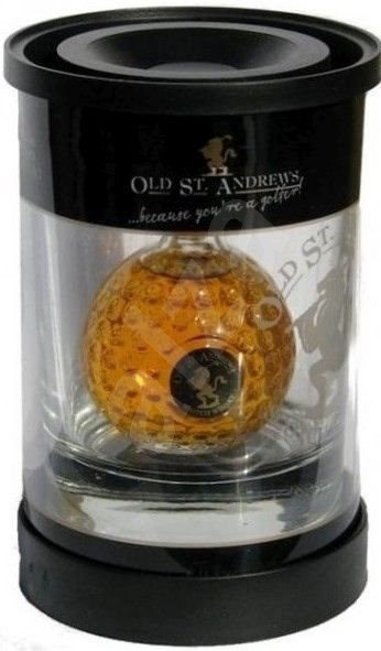 Old St. Andrews Clubhouse Tumblepak 0,05l 40% + 1x sklo GB - Whisky