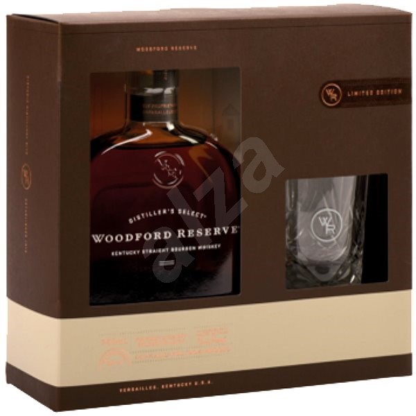 Woodford Reserve 0,7l 43,2% + 1x sklo - Whiskey