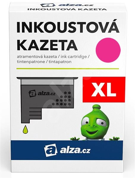 Alza CD973AE purpurový pro tiskárny HP - Alternativní inkoust