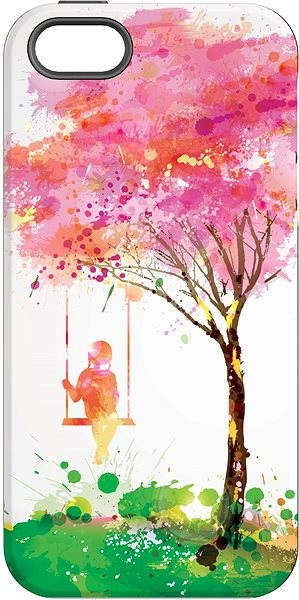 """MojePouzdro """"Tree of happiness"""" + Screen protector for iPhone 5s/SE - Protective case by Alza"""