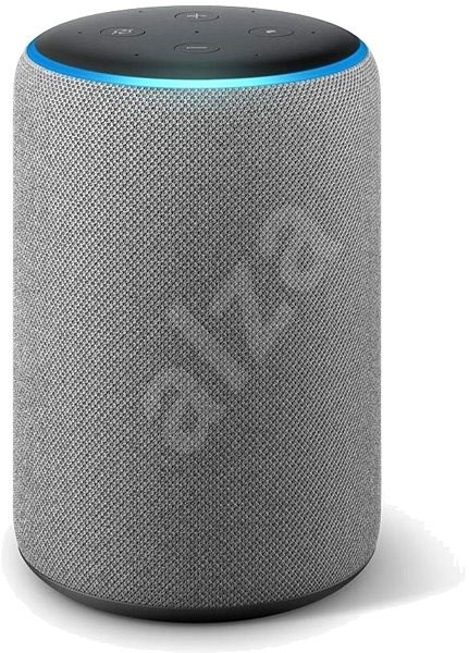 Amazon Echo Plus 2.generace Heather Gray  - Hlasový asistent